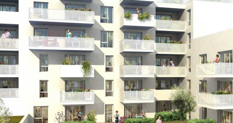 Achat / Vente programme immobilier neuf Villeurbanne proche de Montchat (69100) - Réf. 1804