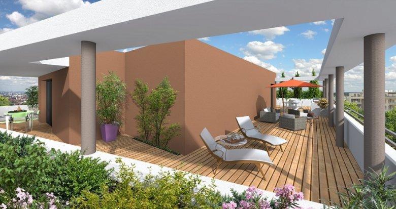 Achat / Vente programme immobilier neuf Villeurbanne proche des transport en commun (69100) - Réf. 1148