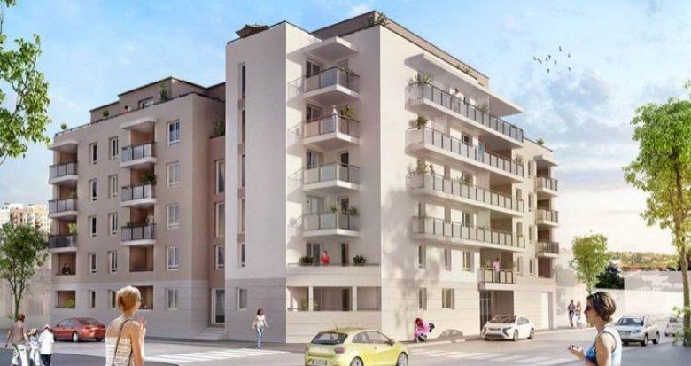 Achat / Vente programme immobilier neuf Villeurbanne proche des transports (69100) - Réf. 710