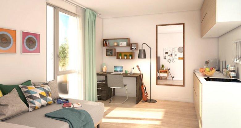 Achat / Vente programme immobilier neuf Villeurbanne proche du Campus de la Doua (69100) - Réf. 2060