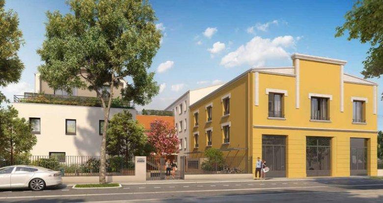 Achat / Vente programme immobilier neuf Villeurbanne proche du Médipôle (69100) - Réf. 5816