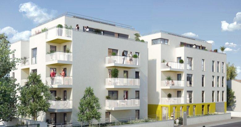 Achat / Vente programme immobilier neuf Villeurbanne proche future ZAC nord (69100) - Réf. 143