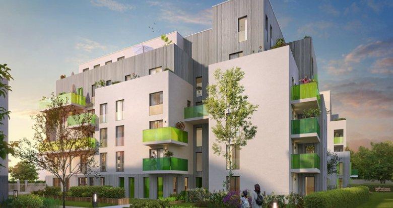 Achat / Vente programme immobilier neuf Villeurbanne proche Gratte-Ciel (69100) - Réf. 5581
