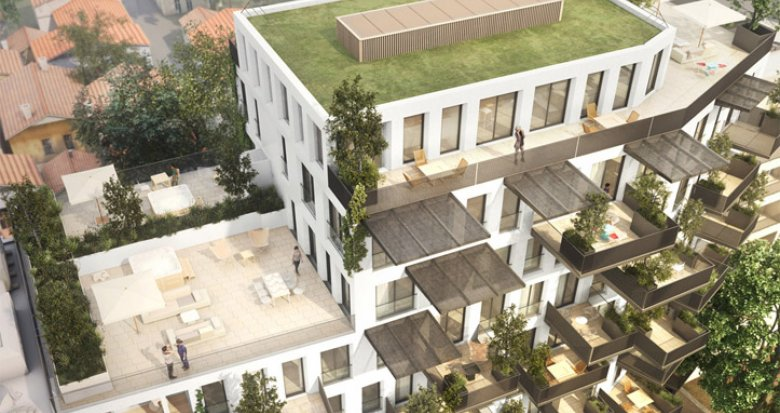 Achat / Vente programme immobilier neuf Villeurbanne proche Gratte-Ciel (69100) - Réf. 689