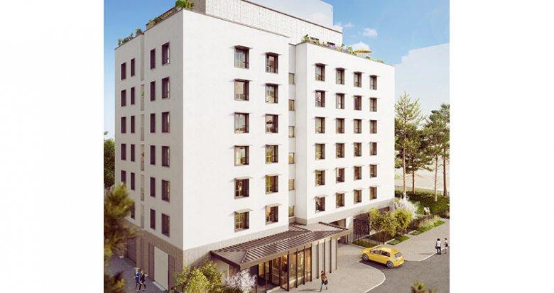 Achat / Vente programme immobilier neuf Villeurbanne proche Mairie (69100) - Réf. 2138