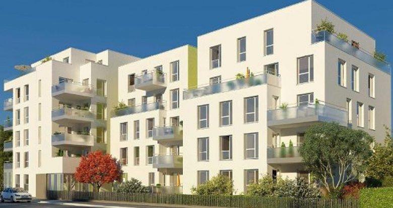 Achat / Vente programme immobilier neuf Villeurbanne proche métro A et B (69100) - Réf. 1004