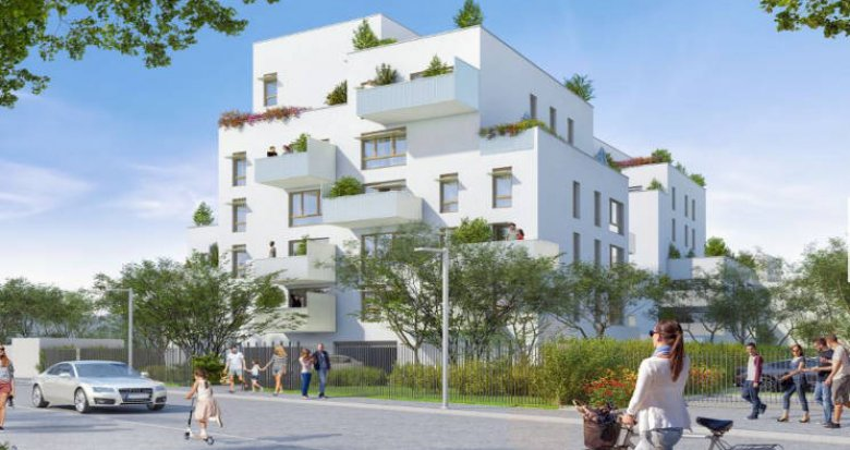 Achat / Vente programme immobilier neuf Villeurbanne proche métro et bus (69100) - Réf. 4373