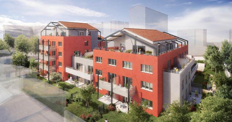 Achat / Vente programme immobilier neuf Villeurbanne proche parc Tête d'Or (69100) - Réf. 1973