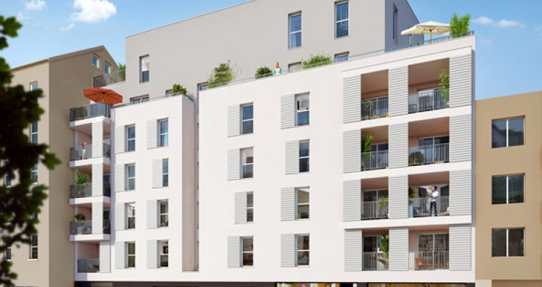 Achat / Vente programme immobilier neuf Villeurbanne proche place Wilson (69100) - Réf. 1196
