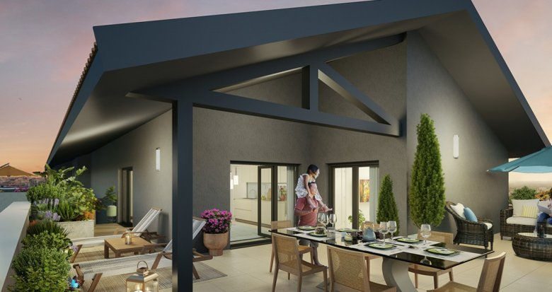 Achat / Vente programme immobilier neuf Villeurbanne proche quartier Gratte-Ciel (69100) - Réf. 2268