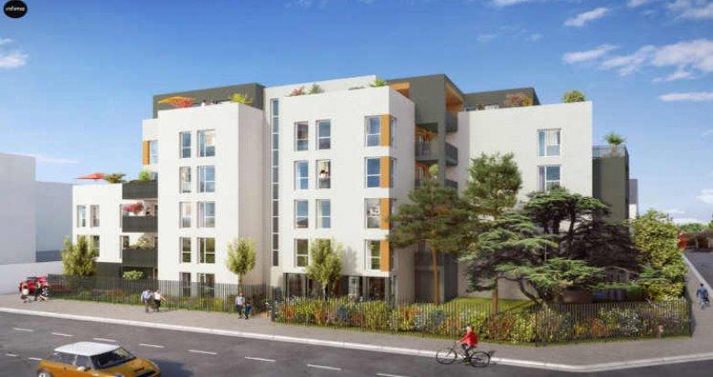 Achat / Vente programme immobilier neuf Villeurbanne proche quartier Gratte-Ciel (69100) - Réf. 3864