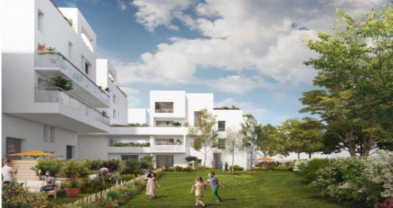 Achat / Vente programme immobilier neuf Villeurbanne proche quartier Gratte-Ciel (69100) - Réf. 2706
