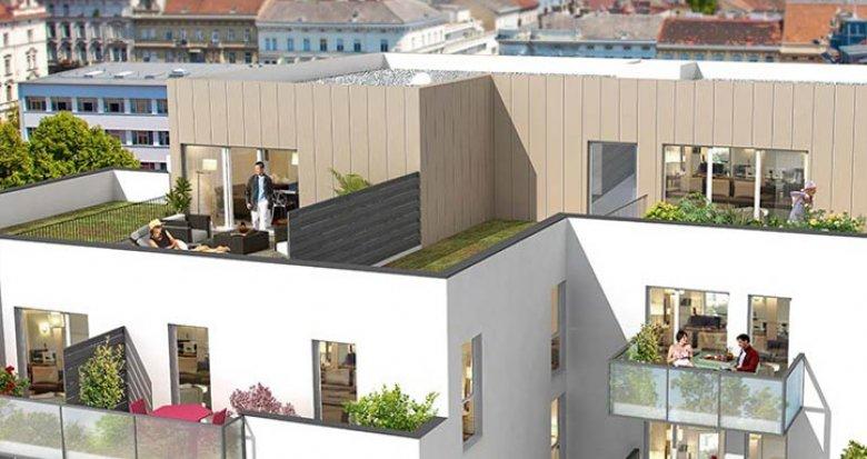 Achat / Vente programme immobilier neuf Villeurbanne proche quartier Montchat (69100) - Réf. 701