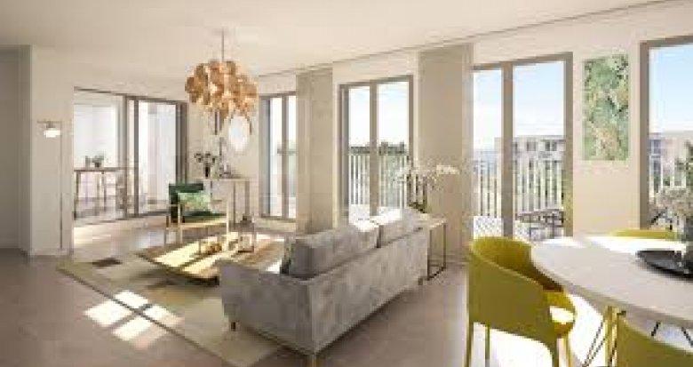 Achat / Vente programme immobilier neuf Villeurbanne proche secteur Montchat (69100) - Réf. 2574