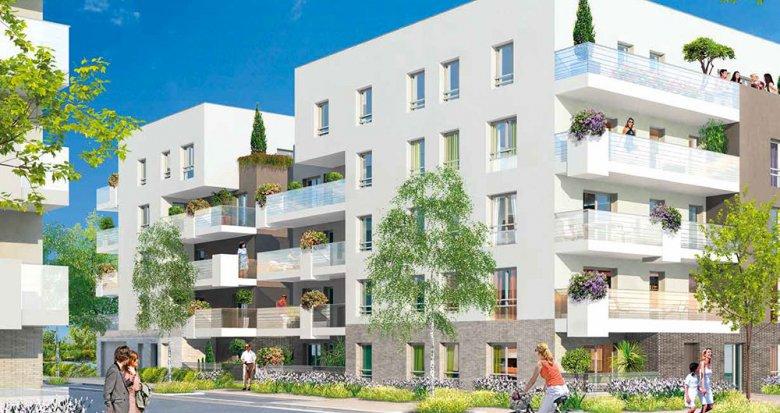 Achat / Vente programme immobilier neuf Villeurbanne proche Tête d'Or (69100) - Réf. 116