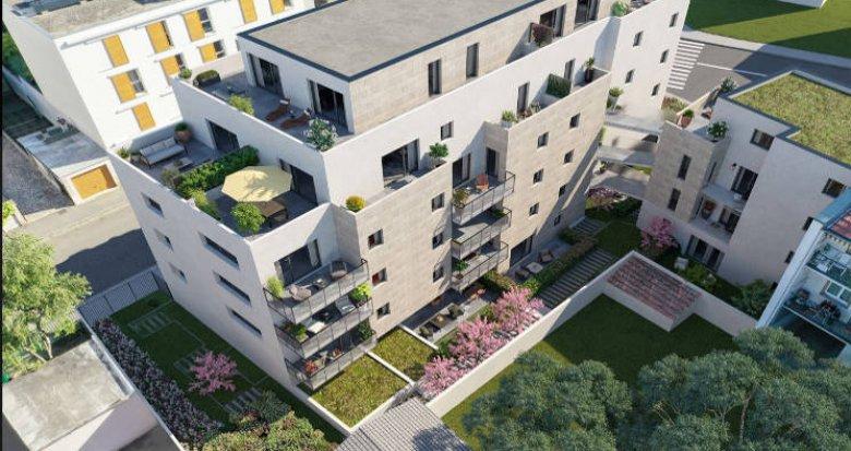 Achat / Vente programme immobilier neuf Villeurbanne proche tramway T1 et T4 (69100) - Réf. 4033