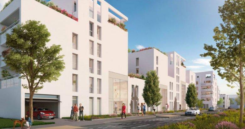 Achat / Vente programme immobilier neuf Villeurbanne proche tramway T4 et bus (69100) - Réf. 5079