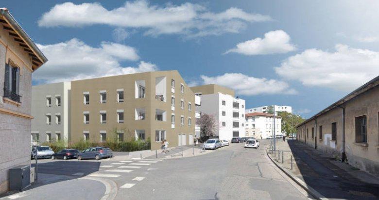 Achat / Vente programme immobilier neuf Villeurbanne proche transports et commerces (69100) - Réf. 4891