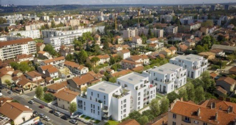 Achat / Vente programme immobilier neuf Villeurbanne proches des transports (69100) - Réf. 3405