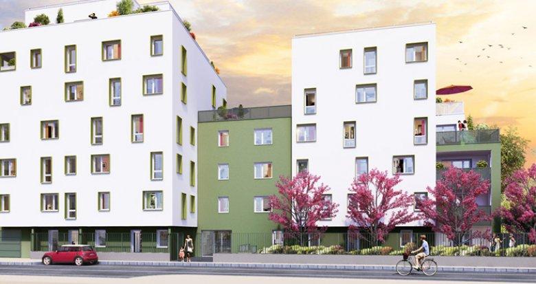 Achat / Vente programme immobilier neuf Villeurbanne quartier Bon Coin (69100) - Réf. 2735