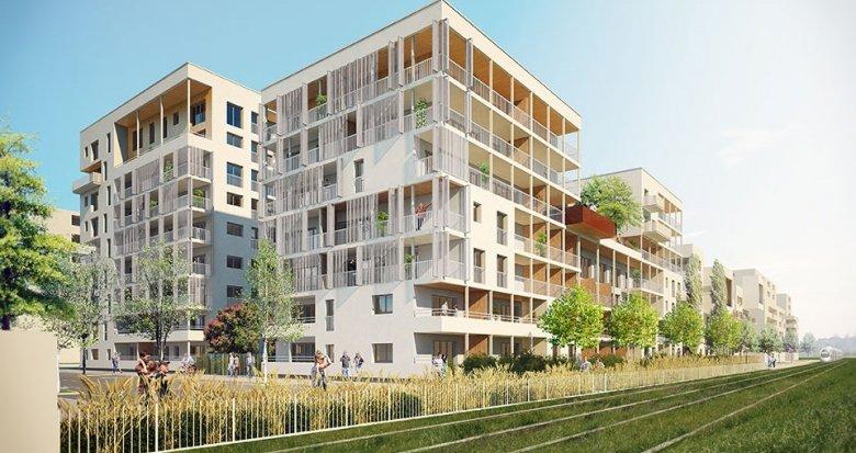 Achat / Vente programme immobilier neuf Villeurbanne quartier de la Soie (69100) - Réf. 654