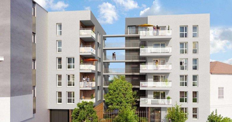Achat / Vente programme immobilier neuf Villeurbanne quartier des Charmettes (69100) - Réf. 711