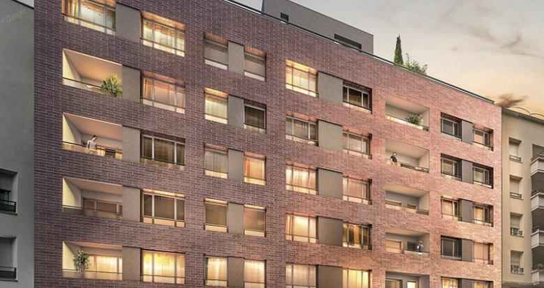 Achat / Vente programme immobilier neuf Villeurbanne quartier des Gratte-ciel (69100) - Réf. 637