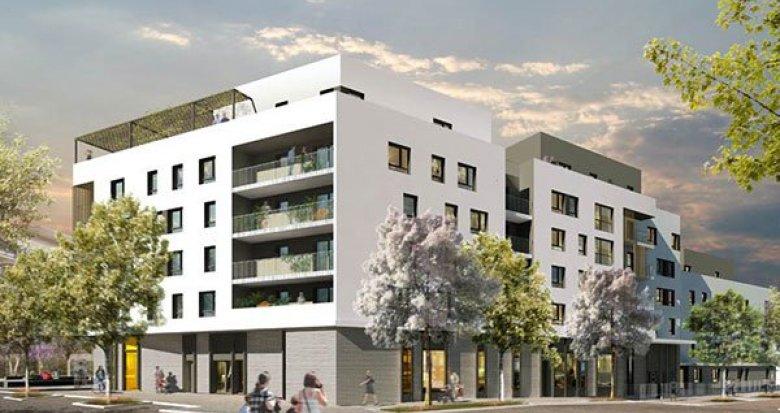 Achat / Vente programme immobilier neuf Villeurbanne quartier des Maisons-Neuves (69100) - Réf. 1244