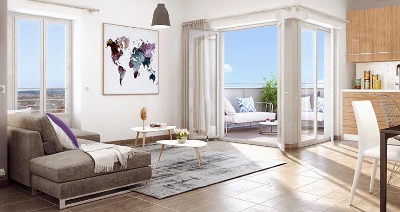 Achat / Vente programme immobilier neuf Villeurbanne quartier Gratte-Ciel (69100) - Réf. 719