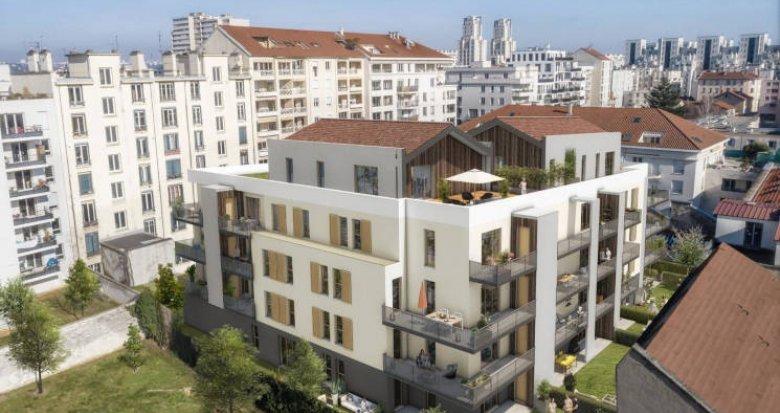 Achat / Vente programme immobilier neuf Villeurbanne quartier Gratte Ciel (69100) - Réf. 3268