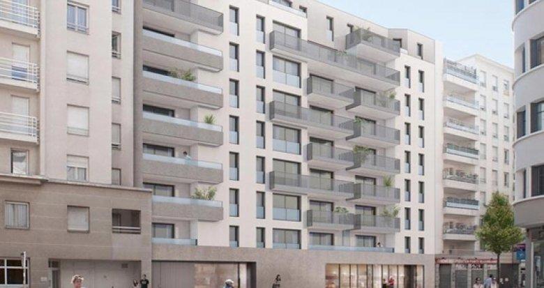 Achat / Vente programme immobilier neuf Villeurbanne quartier Gratte-Ciel (69100) - Réf. 1297