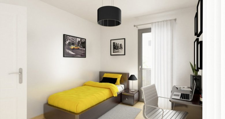 Achat / Vente programme immobilier neuf Villeurbanne quartier pavillonnaire (69100) - Réf. 566