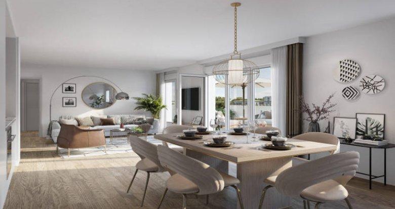 Achat / Vente programme immobilier neuf Villeurbanne résidence intimiste quartier Charpennes (69100) - Réf. 5505