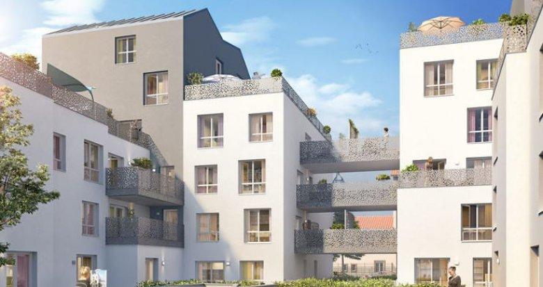 Achat / Vente programme immobilier neuf Villeurbanne secteur des Gratte-Ciel (69100) - Réf. 2351