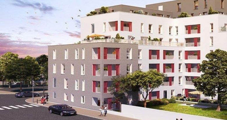 Achat / Vente programme immobilier neuf Villeurbanne secteur Einstein-Salengro (69100) - Réf. 1684